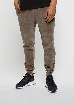 Trainingshose  Jogger Velour mushroom/gold