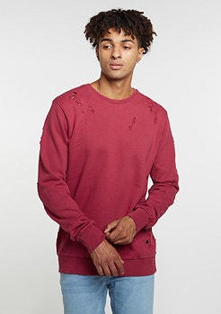 Sweatshirt Shoreditch dark/ruby
