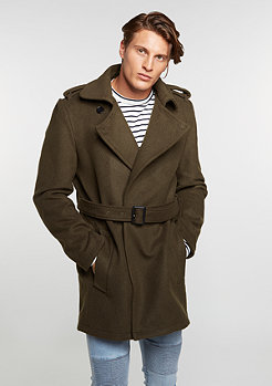 Winterjacke Agent olive/olive