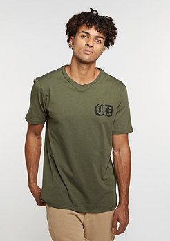 T-Shirt Whitechapel olive/black