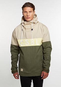 Jacket CSBL Three Peat Anorak olive/sand/pale yellow