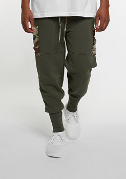 Cargo-Hose BL Section Cargo Sweatpants olive/tiger camo