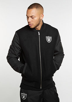 New Era Remix II Bomber NFL Oakland Raiders black