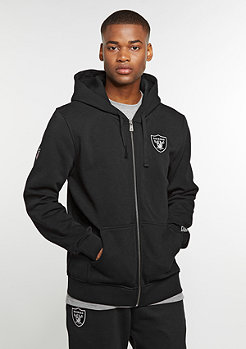 Hooded-Zipper Full NFL Oakland Raiders black