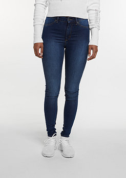 Jeans-Hose High Spray dim blue