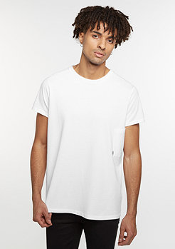T-Shirt Capped white