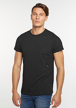 T-Shirt Capped black