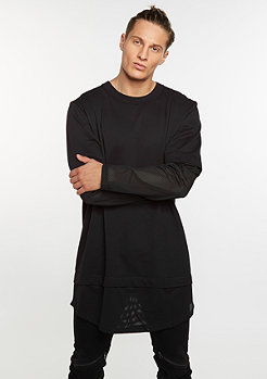 Longsleeve Fake Mesh black