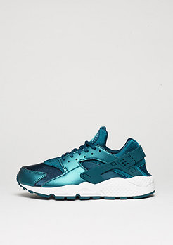 Air Huarache Run SE metalic dark silver/mid turquoise