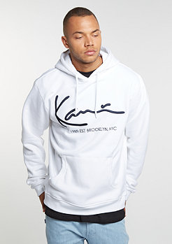 Retro Hoody white