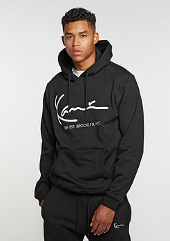 Hooded-Sweatshirt Retro black