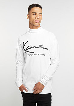 Longsleeve Retro Turtle white