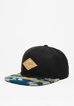 Snapback-Cap 6P SB Felt Aztec black
