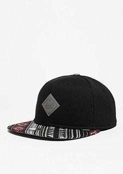 Snapback-Cap 6P SB Wool Aztec black/grey