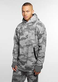 Hooded Sweatshirt Millennivm Loose Fit stone camo/ reflective grey