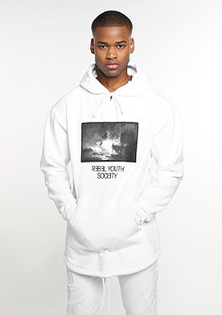 Hooded-Sweatshirt Series white/black