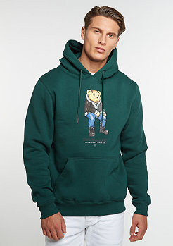 Hooded-Sweatshirt WL CHMPGN DRMS forest green/mc