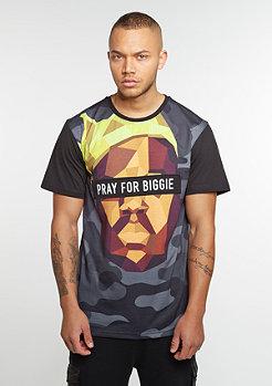 T-Shirt WL Tee Bigasso black/mc