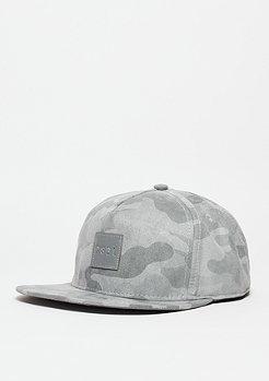 Snapback-Cap BL Millennivm stone camo/reflective grey
