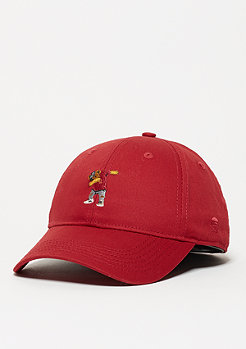 Baseball-Cap WL Curved Dabbin' Crew red/mc
