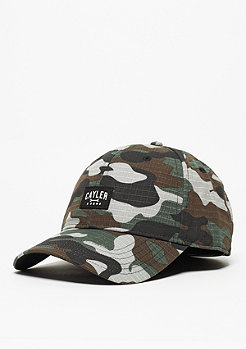C&S CL Curved Cap Toolin' woodland/black