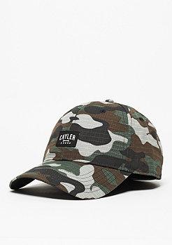Snapback-Cap CL Curved Toolin' woodland/black