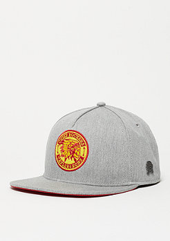 C&S CL Cap CR heather grey/red/yellow