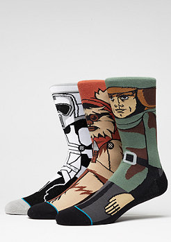 Fashionsocke Return Of The Jedi 3Pack black
