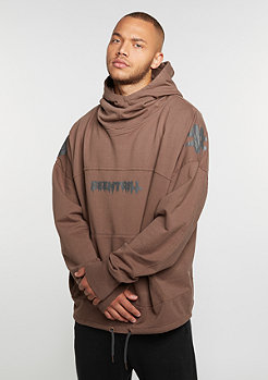 Hooded-Sweatshirt Oversized Hoody rust