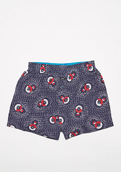 Boxershort The Vista Circle Chart navy