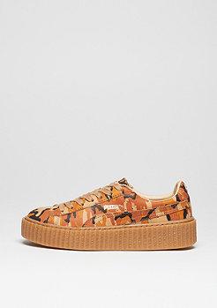 Schuh Suede Creepers Camo Rihanna orange/orange