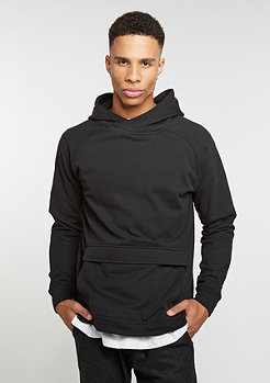 Hooded-Sweatshirt Front Pocket Hoody black