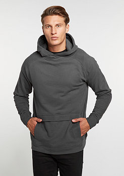Hooded-Sweatshirt Front Pocket Hoody charcoal