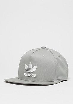 Snapback-Cap Trefoil Flat solid grey