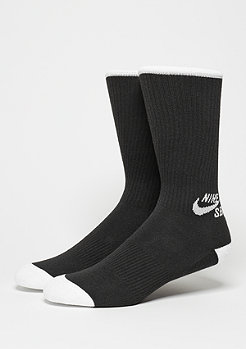 Sportsocke Crew Skateboarding Sock (3 Pair) black/white