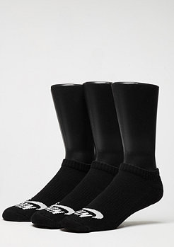 Sport-Socke No-Show black/white