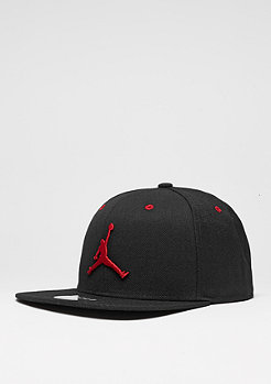 Jumpman black/gym red