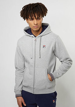 Hooded-Zipper Heritage Line Jacke Tenconi heather grey