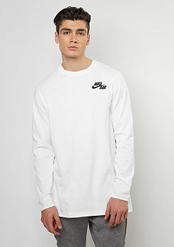 Longsleeve Air Top white/black