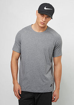 NSW BND TOP SS carbon heather/black