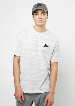 NIKE T-Shirt NSW AV15 SS KNIT white/heather/black