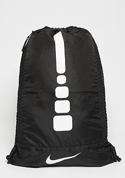 Hoops Elite Gym Sack black/black/white