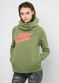 Hooded-Sweatshirt Rally GX1 palm green/palm green/lawa glow