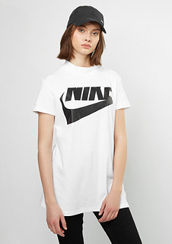 T-Shirt Top Irreverent white/white/black
