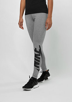 NIKE Leggings Irreverent carbon heather/black