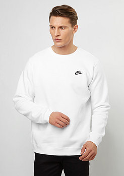 Crew Fleece Club white/black