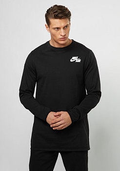 Air Top LS black/white