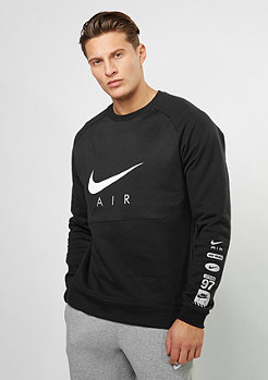 Sweatshirt Crew BB Air HYB black/black/white
