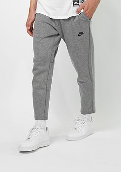 NIKE Trainingshose Tech Fleece CRPD carbon heather/black