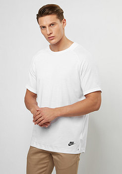 T-Shirt BND Top SS white/black